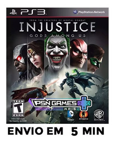 Injustice Gods Among Ps3 Psn Envio Agora