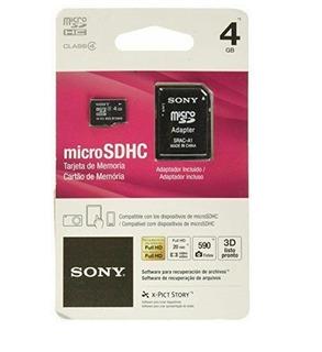 Cartão Micro Sdhc C/adptador Sony Original