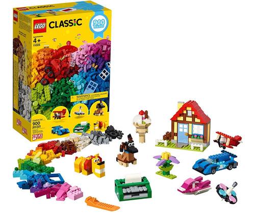 Lego 11005 Classic Creative Fun - Juego De Const 900 Piezas