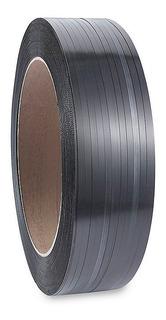 Fleje Plástico Negro De 1/2 Pulgada Polipropileno - 2 Rollos