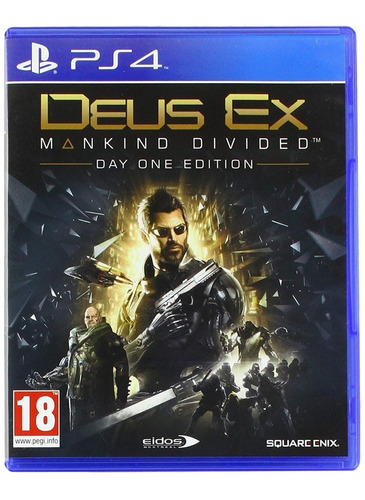 Deus Ex Mankind Divided Playstation 4