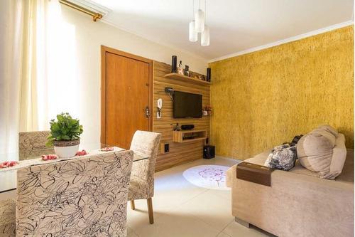 Imagem 1 de 18 de Apartamento 2 Quartos 1 Vaga No Três Barras - 23690