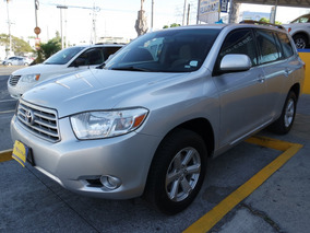 2009 Toyota Highlander Base Premium 6 Cil. Color Plata