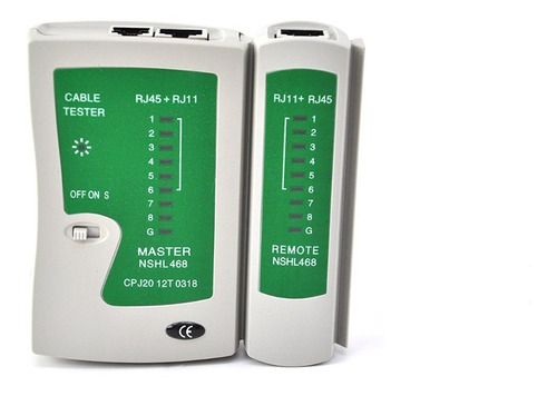 Tester Lan Con Estuche Nuevo  Rj11 Rj45 - Electroimporta -