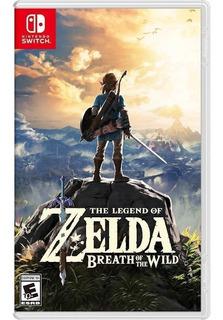 The Legend Of Zelda Breath The Wild Nintendo Switch Fisico !