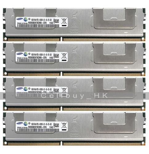 Imagem 1 de 4 de Memória Ram 64gb (4x16gb) 8500r Ecc Ddr3 Dell Poweredge R710