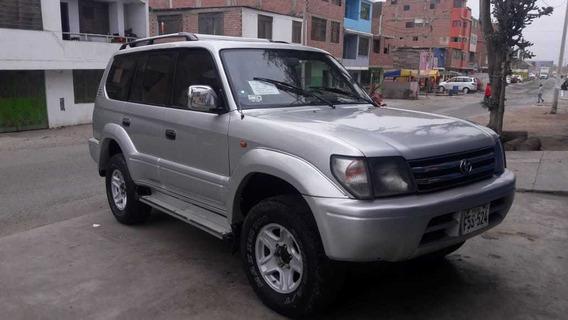 Toyota Land Cruiser 1998 Blanco 5 Puertas