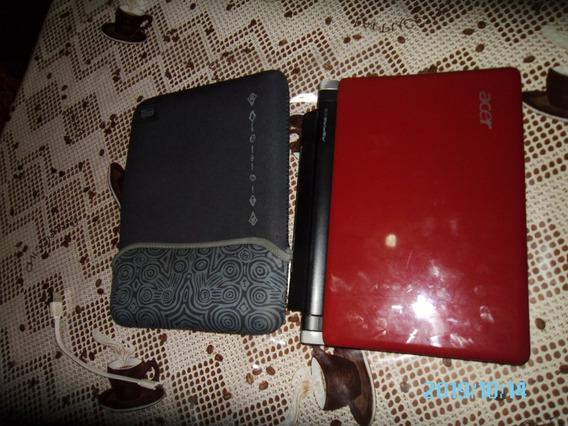 Mini Laptop Acer - Kav60 Roja
