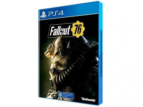 Jogo Fallout 76 Ps4 Midia Fisica - Entrega Imediata Original