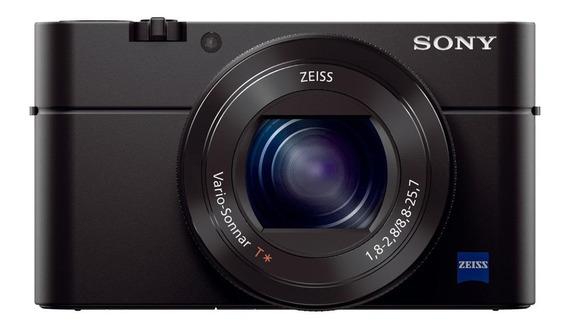 Sony Cyber-shot RX100 IV compacta cor preto
