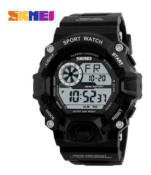 Relógio Masculino Skmei 1019 Digital Preto Prova D