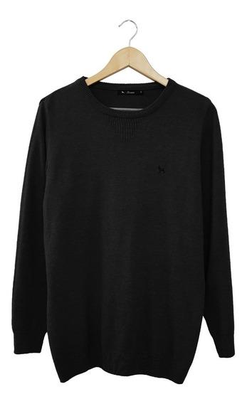 Sweater Esc Red Melange C/bordado | Bravo Jeans (28230)