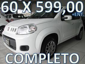 Fiat Uno Evo Vivace Completo Entrada + 60 X 599,00 Fixas