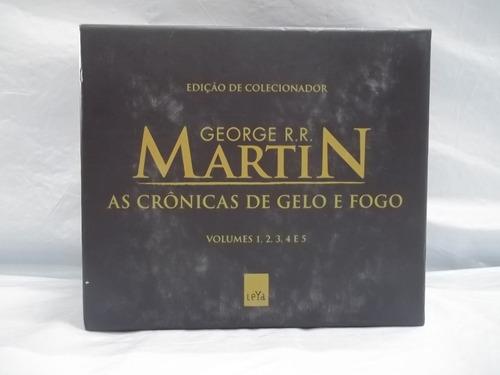 Box Crônicas Gelo E Fogo Pocket George R Martin 5 Vol Outlet