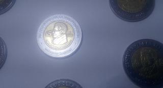 Moneda Conmemorativa De 5 Pesos Carlos Maria De Bustamante