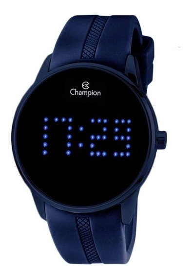 Relógio Masculino Digital Champion Ch40277a - Azul