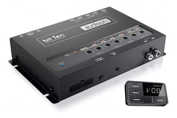 Processador Audio Audison Bit Ten + Controle Remoto Drc Ab