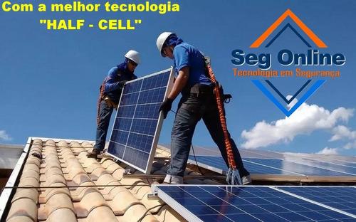 Imagem 1 de 6 de Placa Solar Painel Modulo Fotovoltaico 330wp Kit 4 Placas