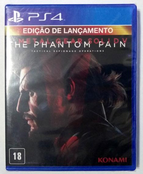 Metal Gear Solid V The Phantom Pain Ps4 Mídia Física Lacrada