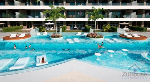 Imagen 1 de 13 de Apartamento En Primer Nivel En Hard Rock, Punta Can Wpa101 B