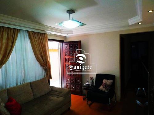 Casa Com 2 Dormitórios À Venda, 103 M² Por R$ 375.000,00 - Jardim Marek - Santo André/sp - Ca1236