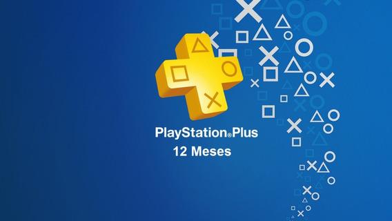 Ps Plus 12 Meses Ps4 Playstation Plus Activalo Una Sola Vez