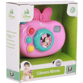 Minnie Disney Câmera Fotográfica Musical Dican Brinquedos