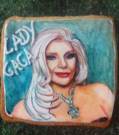 Galletas Decoradas De Lady Gaga