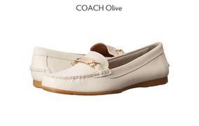 Zapatos Coach Color Cuero