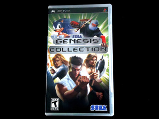 ¡¡¡ Sega Genesis Collection Para Psp !!!
