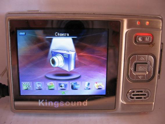 Defeito Câmera E Filmadora Kingsound Ligando Botões Travados