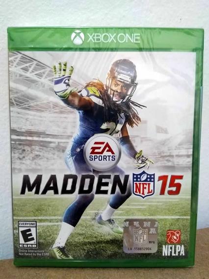 Xbox One Madden Nfl 15! Mídia Física! Novo E Lacrado