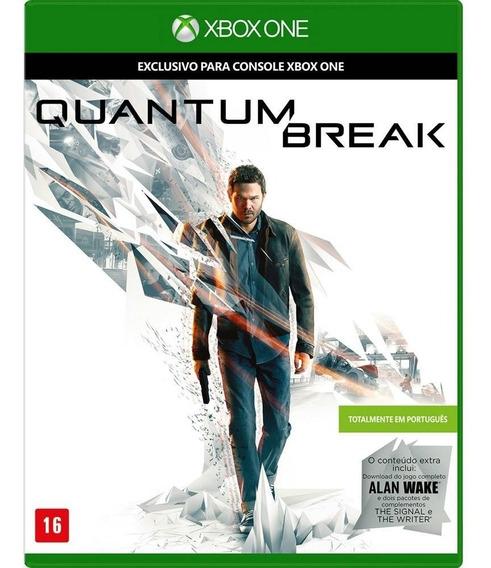 Quantum Break Xbox One Mídia Física Lacrado Portugues Origin