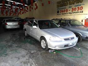 Honda Civic 1.6 Lx Aut. 4p 2000 Prata $$ 6900,0 + 36