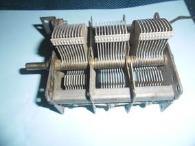 Variável De Três Seções 3x1350 Pf. Cada Seção, Peça Rara