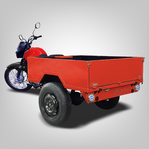 Triciclo Fusco Caçamba - Faz 30km/l - Transporta 300kg