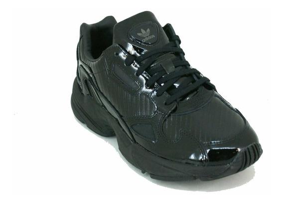 Zapatilla adidas Ori Falcon Negro Dama Deporfan