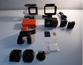 Gopro Hero 7 Black + Dome Telesim + Varios Acessorios
