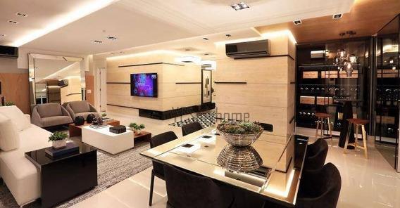Apartamento Com 3 Suites À Venda, 182 M² Por R$ 1.506.000 - Ecoville - Curitiba/pr - Ap2760