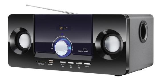 Caixa De Som 2.1 Multilaser Sp117 - 20w Rms - Mp3 Player