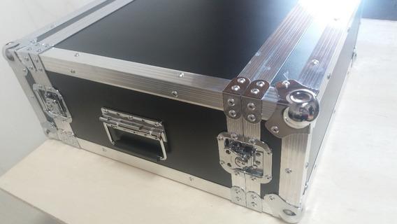 Hard Case 04 Unidades Rack 19 Periferico,cubo Baixo,guitarra