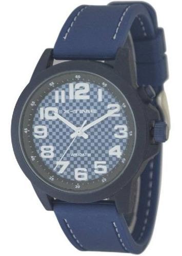 Reloj Hombre Caucho Sumergible X-time Xt024
