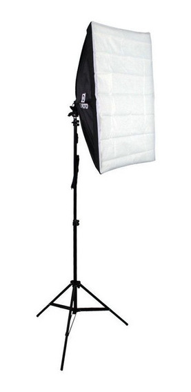 Kit De Estudio Para Video E Fotografia Com Softbox E Tripé