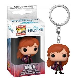 Anna Frozen 2 Disney Funko Pop Pocket Keychain Llavero