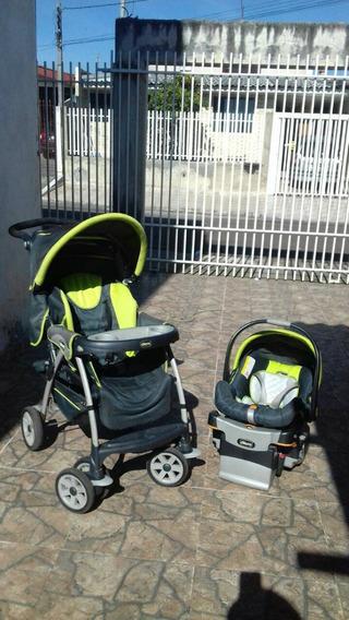 Carrinho, Bebê Conforto + Base