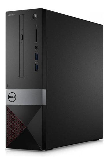 Pc De Escritorio Dell I3 8gb Hd 1tb Ubuntu Vostro Ram Para Uso Hogar Y Empresa - Garantia Oficial