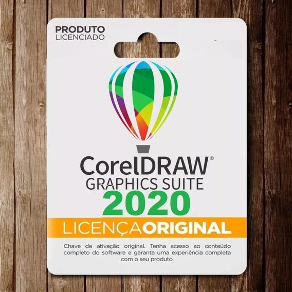 Licença Corel Draw 2020 Ativa 3 Pcs (superior Ao X8 2019)