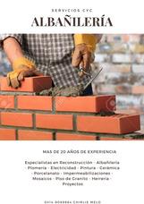 Albañil Profesional, Albañileria Remodelacion Construccion
