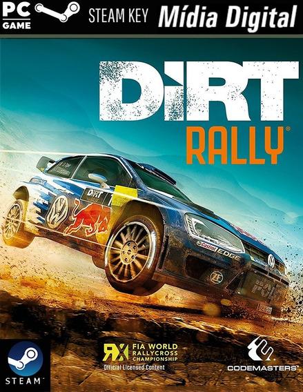 Pc- Dirt Rally - Steam Key - Mídia Digital Jogo P/computador