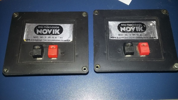Divisor De Frequencia 3 Vias Novik P/falantes De 10 R$70,00